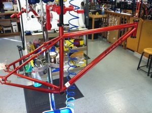 Frame ready for components