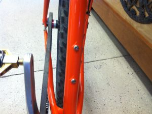 More orange bike