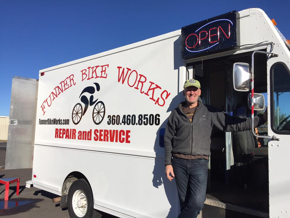 Mike and the Bicycle Repair Van